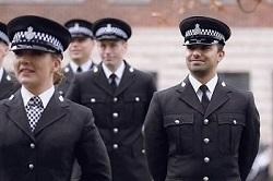Photo of NYP Police Constable Apprentice in uniform