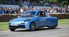 An innovative hydrogen-powered vehicle from Riversimple.