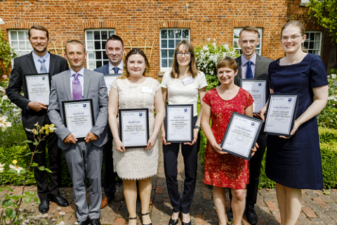 Student and Alumni Award winners 2016-2017