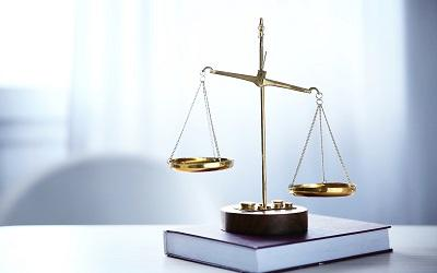 Image of scales representing justice
