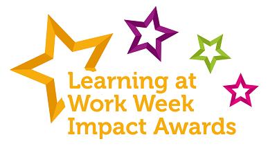 Learning at Work Week Impact Awards logo