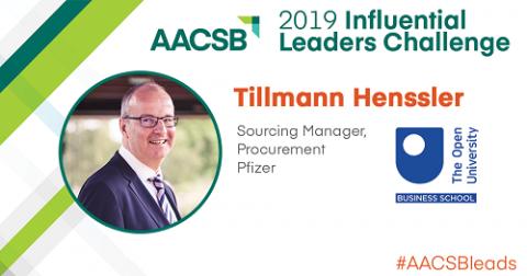 Tillmann Henssler AACSB Influential Leader 2019